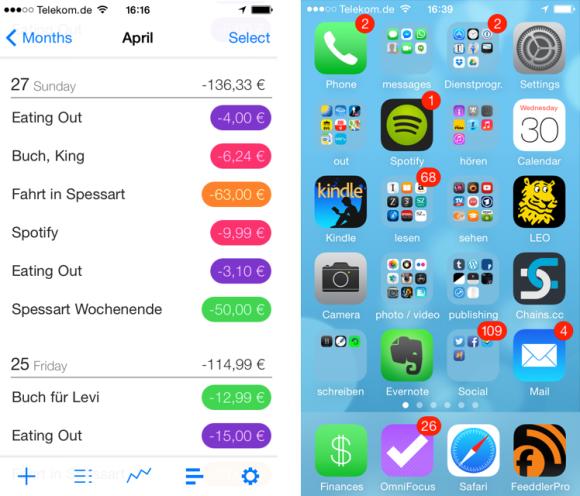 My Finances App iOS