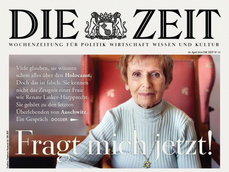 Aufmacher Die Zeit 2014/19