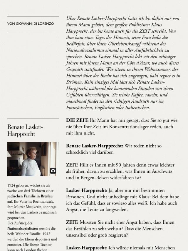 Die Zeit - Ausgabe 19/2014