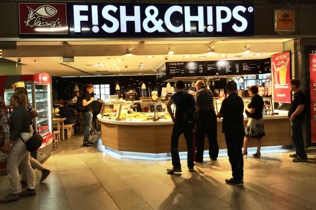 Fish & Chips @ Bahnhof Friedrichstraße