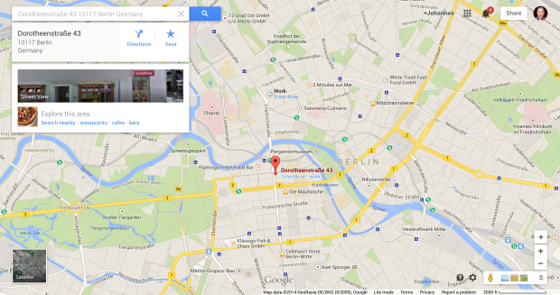 Dussmann Deli @ Google Maps
