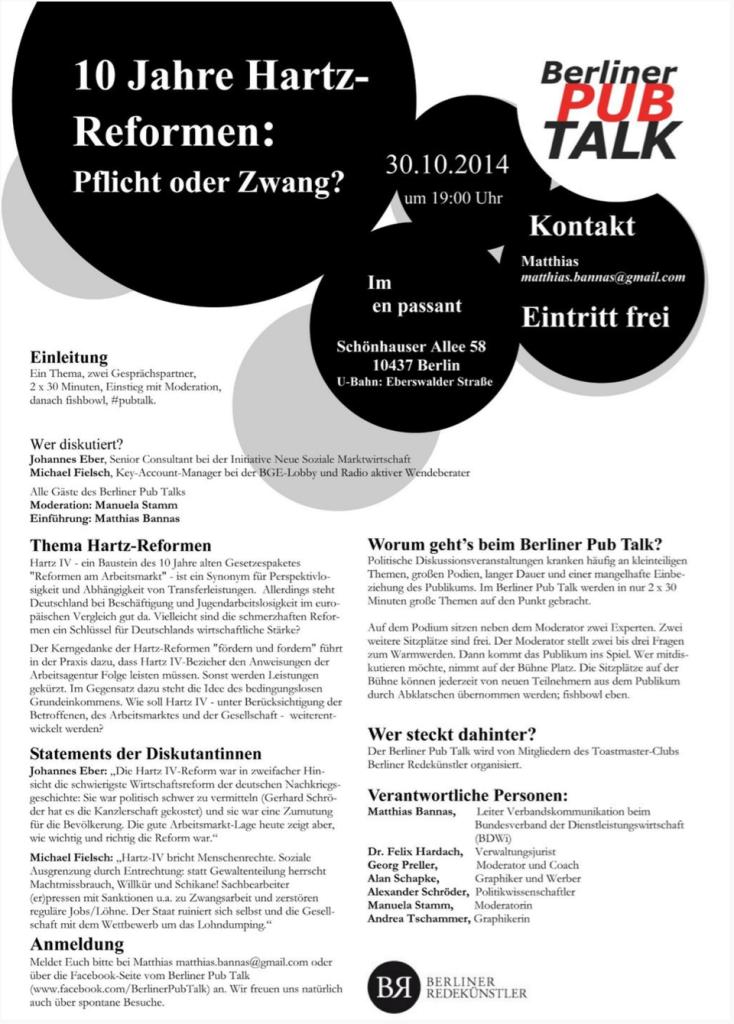 10 Jahre Hartz-Reformen: Pflicht oder Zwang?