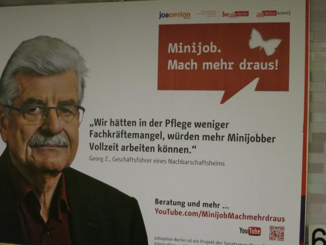 www.Minijob-Machmehrdaraus.de ist ein Projekt der Berliner Senatsverwaltung und der Versuch, Menschen zum Verlassen von Minijobs zu bewegen. // photo by Alper Çuğun ( CC BY 2.0)