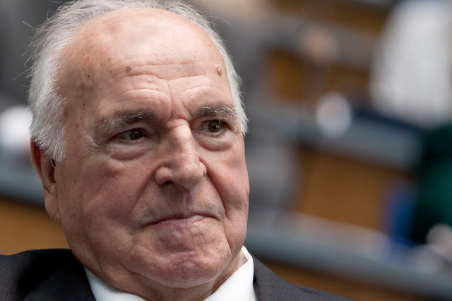 Soli-Erfinder Helmut Kohl. // photo by: KASonline (CC BY 2.0)