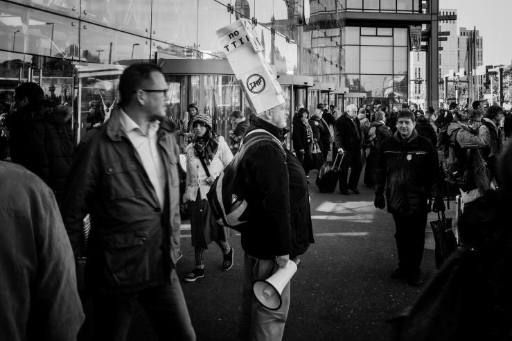 no TTIP: Der Protest gegen das geplante Freihandelsabkommen ist kein vereinzelter